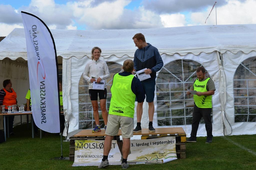6 km (15-49 år) vindere: Laila Søholm og Lars Hovgaard