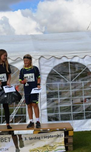 11,4 km (-14 år) Vindere Anna Malling Konggaard og Johannes Malling