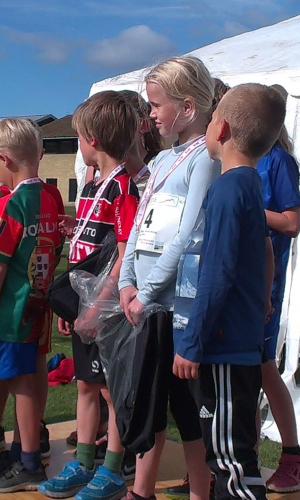 4,2 km deltagere fik alle medaljer