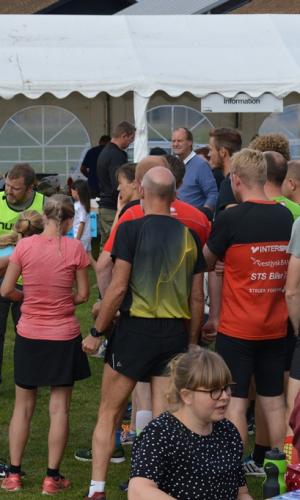 Instruktion før løbet