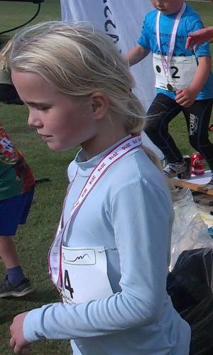 vinder 4,2 km (0-9 år) piger: Agnes Lyssemos