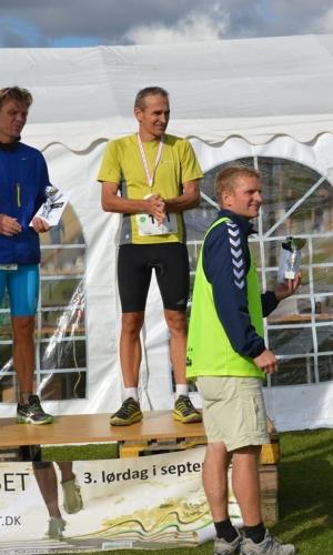 1 Maraton mænd Vindere Bo Georgi (50+) og Thomas Pedersen (15-49 år)