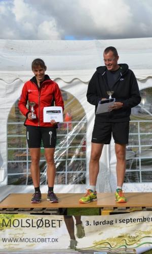 11,4 km (15-49 år) vindere Mette From Søndergaard og Bo Liendgaard