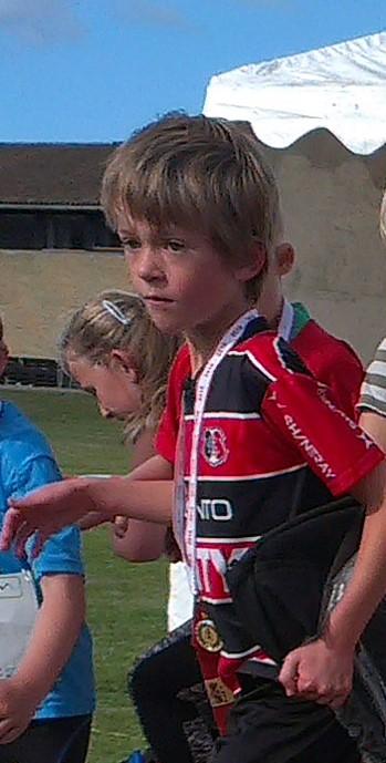 vinder 4,2 km (0-9 år) drenge: Valdemar Ventzel Riis