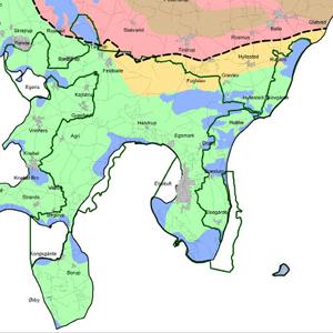 Istidens påvirkning af Nationalpark Mols Bjerge