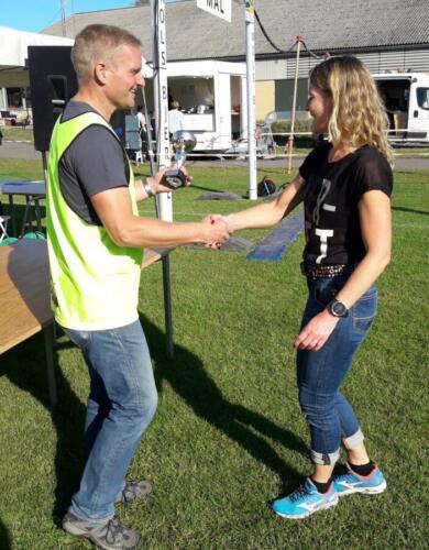 Foto Daniel GLob - vinder damer 50+ 11,4 km - Tina Thomsen (1)