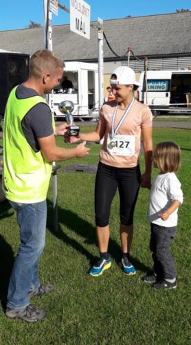 Foto Daniel Glob - vinder damer 15-49 år halvmaraton - Natalia Krasnianska (1)