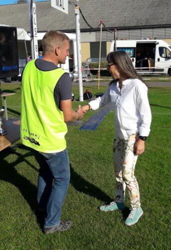 Foto Daniel Glob - vinder damer 50+ halvmaraton - Gitte Sørensen (1)