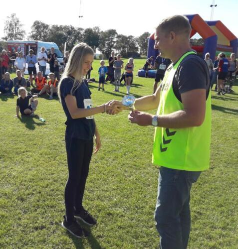 Foto Daniel Glob - vinder damer under 15 år 6 km - Klara Bech Mikkelsen (1) (1)