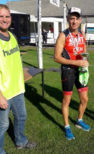 Foto Daniel Glob - vinder herrer 50+ halvmaraton - Kurt Madsen (1)