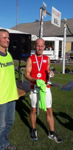 Foto Daniel Glob - vinder herrer 50+ maraton - Torben Jensen