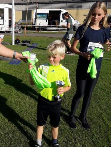Foto Daniel Glob - vinder herrer under 15 år 6 km - Eigil Mikkelsen