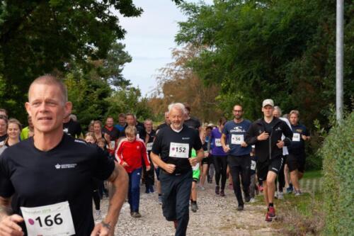 Foto Mikkel Lyngbye - Start på Molsløbets 4 km rute