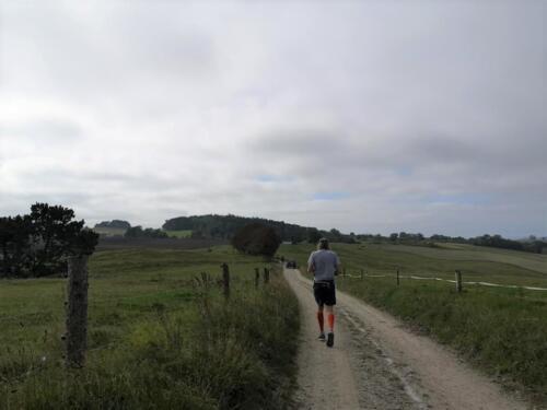 Foto Sabrina Lock - løberen foran